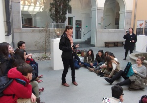 Aprender a escuchar - introducción en el Museo