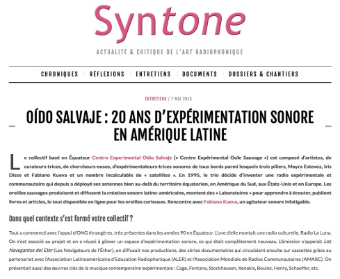 article syntone 2