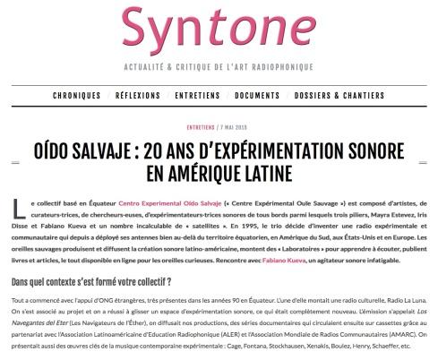 article syntone 2